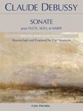 Debussy Sonate pour Flute, Alto, et Harpe