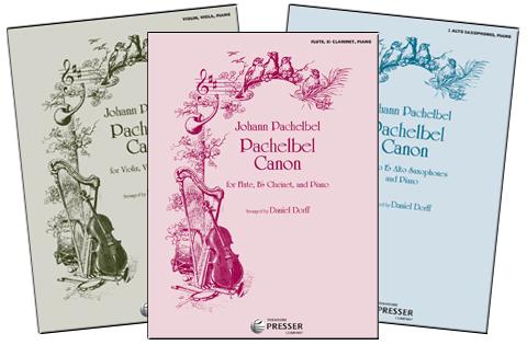 New Pachelbel Canon Arrangements