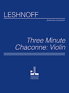 Three Minute Chaconne / Vln