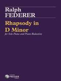 Federer Rhapsody in D Minor