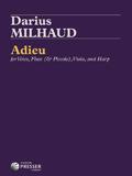 Milhaud Adieu