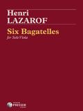 Lazarof Six Bagatelles