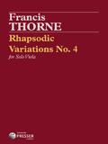 Thorne Rhapsodie Variations No. 4