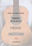 Haydn Three Sonatas
