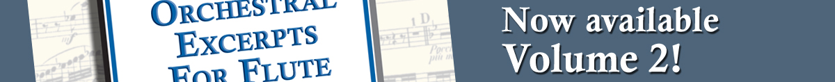 Orchestral Excerpts Volume TWO Now Available