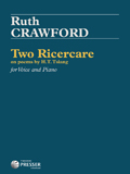 Crawford Two Ricercare